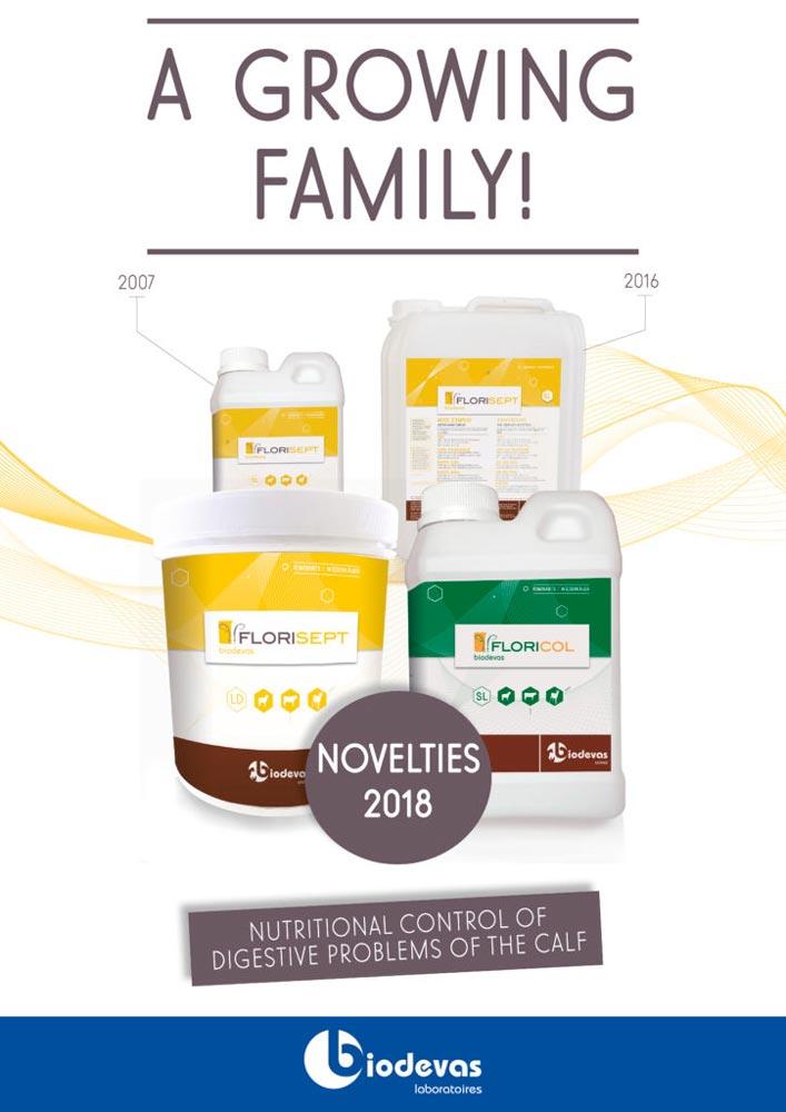 Florisept-Floricol: available novelties